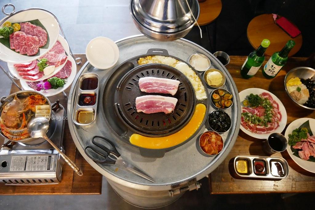 一桶韓式新食:中科商圈韓式燒肉店,Haggen-Dazs和生日壽星禮 @飛天璇的口袋