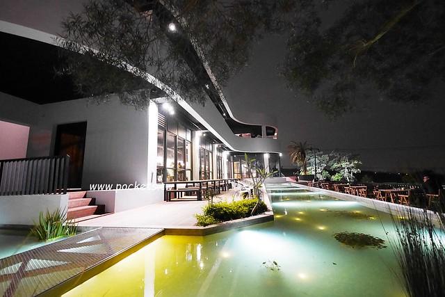 綠朵休閒農場:台中龍井純白色鋼琴外觀建築,可以同時觀賞日落和夜景,台中打卡景觀餐廳 @飛天璇的口袋