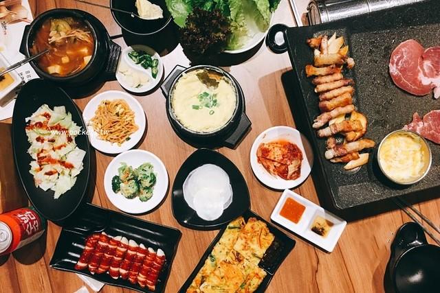火板大叔韓國烤肉:老闆是道地的韓國人,餐點平價道地又好吃,韓式料理原來不是只有一種味道 @飛天璇的口袋