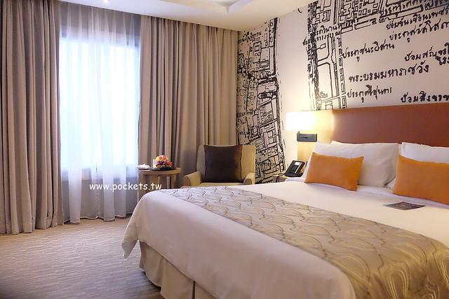 曼谷雅高美居大酒店 Grand Mercure Bangkok Fortune┃曼谷住宿推薦:MRT捷運站步行3分鐘,Tesco步行5分鐘、對面是Central Plaza百貨 @飛天璇的口袋