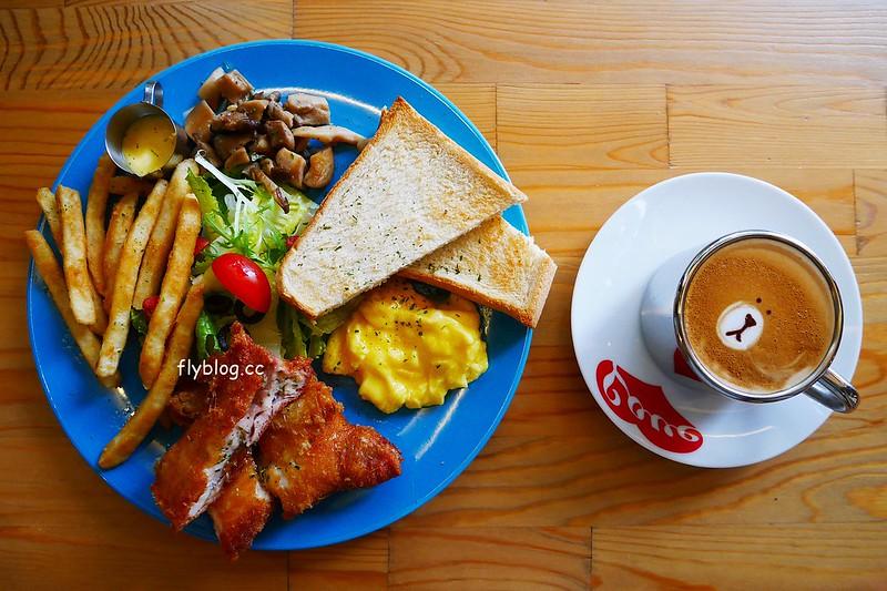 牧熊咖啡.Moow┃台中西區美食:巷弄間的工業風咖啡館,餐點好吃有誠意,讓人感覺放鬆的早午餐店 @飛天璇的口袋