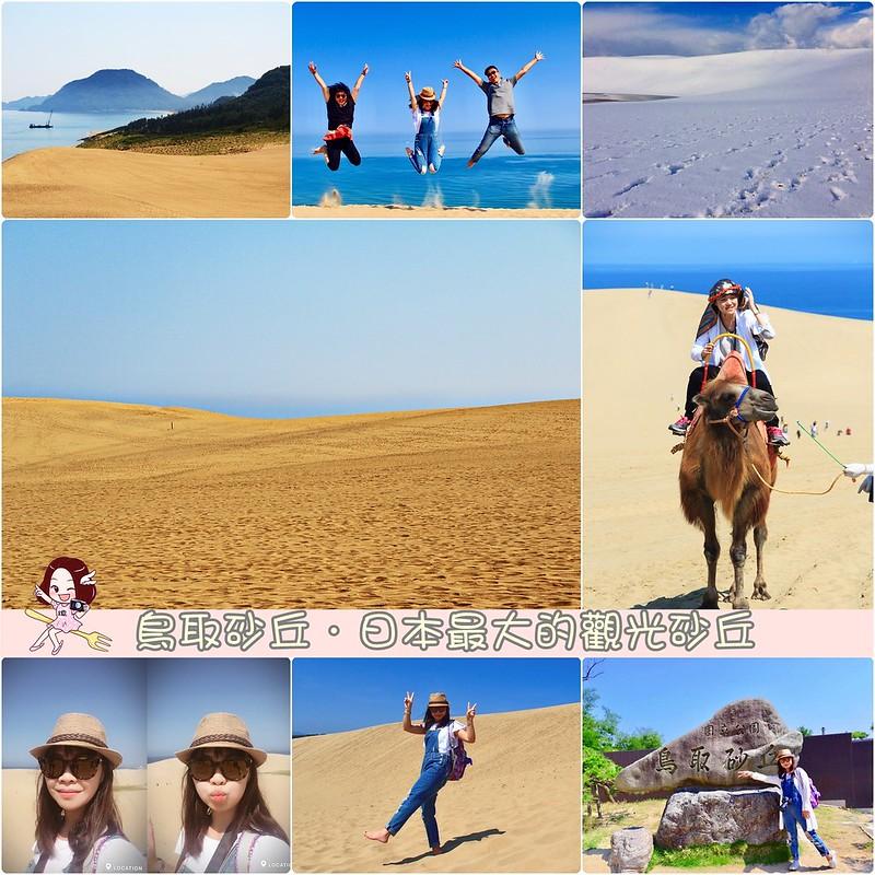 鳥取砂丘┃鳥取親子自駕遊:日本地區最美的沙漠景色,山陰地區必遊的旅遊景點推薦 @飛天璇的口袋