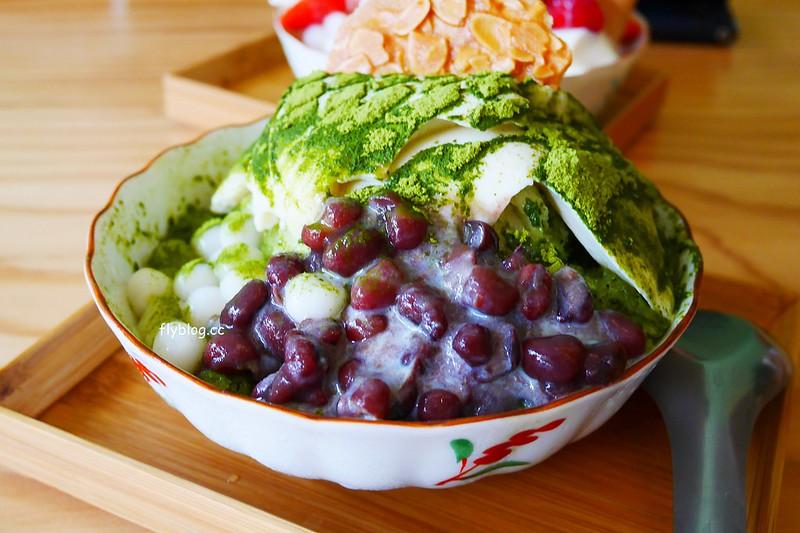 美軍豆乳冰:用心的食材是會被發現的,使用台灣黃豆製成豆花和豆漿,夏天也吃的到草莓冰 @飛天璇的口袋