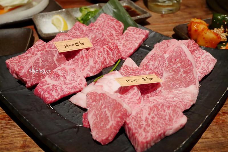 燒肉一丁@心齋橋本店 ┃大阪美食推薦:到日本就是要吃燒肉,大阪超好吃的黑毛和牛,心齋橋道敦堀附近交通方便 @飛天璇的口袋