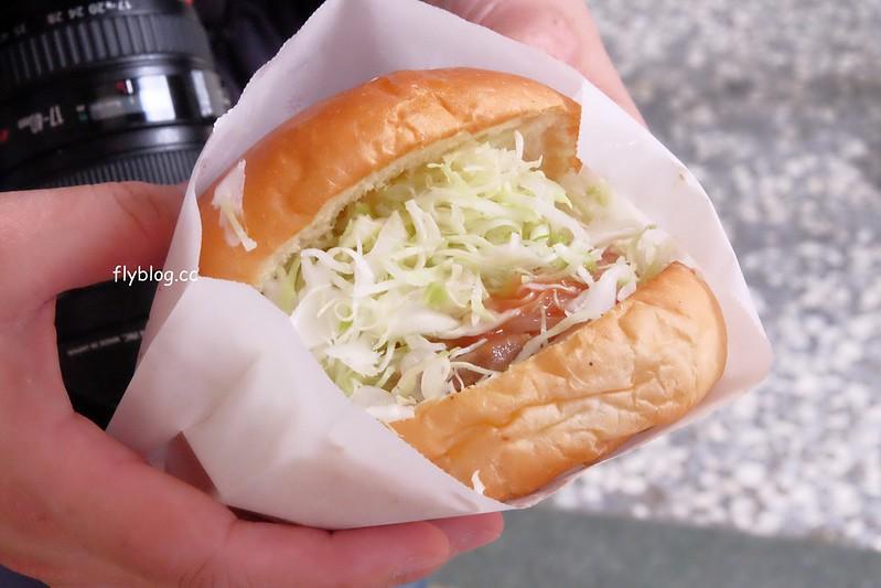 蓬萊漢堡┃嘉義美食:麵包店裡面賣漢堡,嘉義人記憶中的美味,食尚玩家採訪報導 @飛天璇的口袋