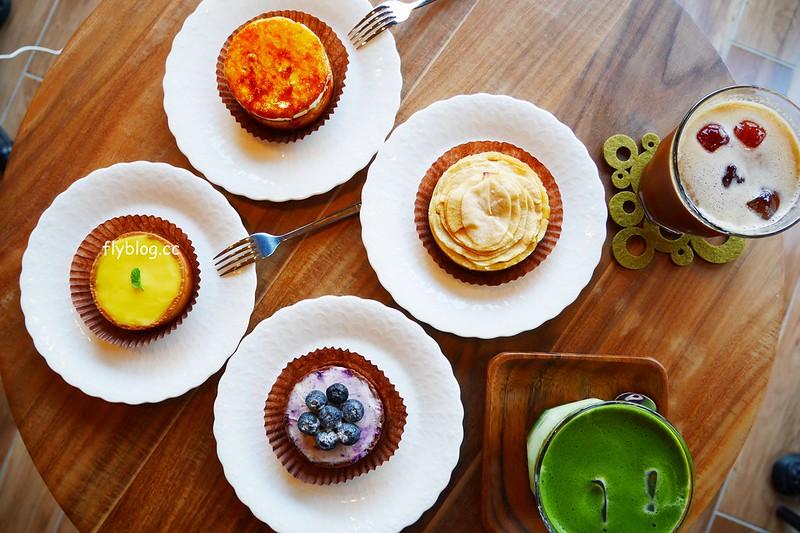 舞森咖啡┃台中北屯:溫馨有質感的咖啡館,甜點表現也不錯,可以使用插座和wifi,大坑地區下午茶推薦 @飛天璇的口袋