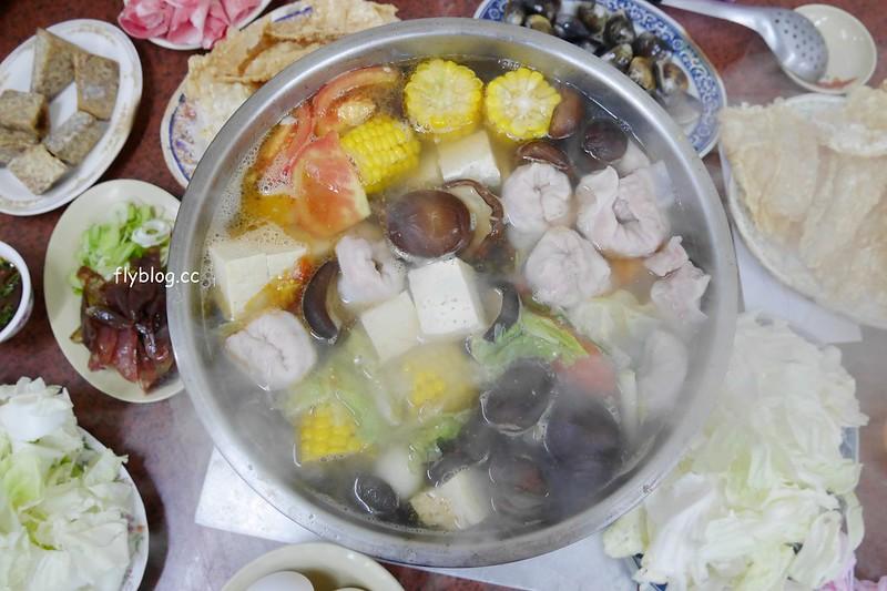 吉生沙茶火鍋:用臉盆吃火鍋很有fu,想吃要只能等到冬天,炭火煮火鍋吃的是古早味 @飛天璇的口袋