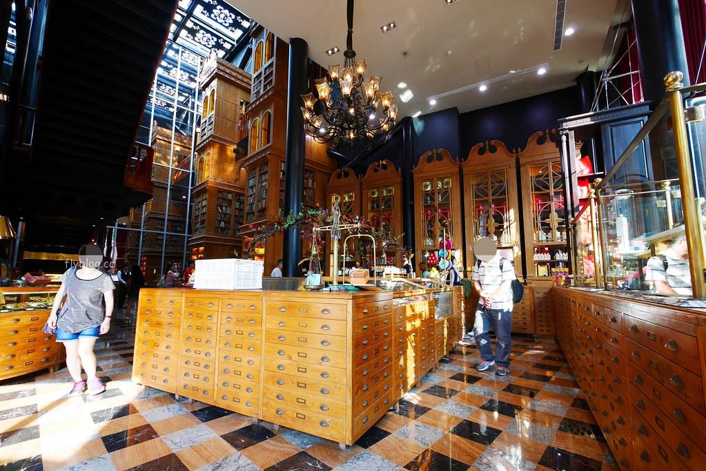 宮原眼科┃台中景點:台中必遊景點~觀光客來台中必朝聖,充滿歷史風味的歷史建築,眼科也賣冰淇淋哦! @飛天璇的口袋