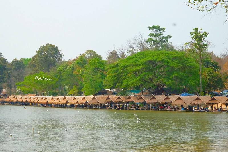 惠登淘國家公園 Huay Tung Tao Lake┃泰國清邁:清邁郊外新景點,在湖畔餐廳享用正統泰式料理 @飛天璇的口袋