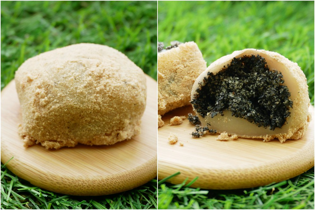 第五市場麻糬之家:隱身在市場內的傳統麻糬,復古口味紮實好吃,中午左右就會賣光光 @飛天璇的口袋