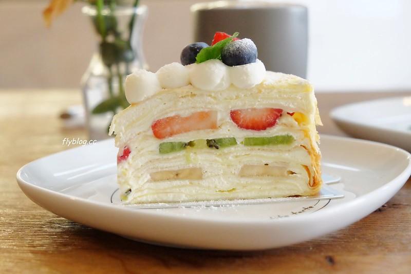 樂緹波兒手作塔派.La Petite Tarte┃台中南屯:千層蛋糕清爽滑順,還有生日蛋糕可以預訂外帶 @飛天璇的口袋