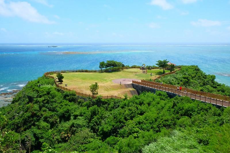 知念岬公園┃沖繩景點:海天一色的絕佳美景,沖繩南部最美的觀景台 @飛天璇的口袋