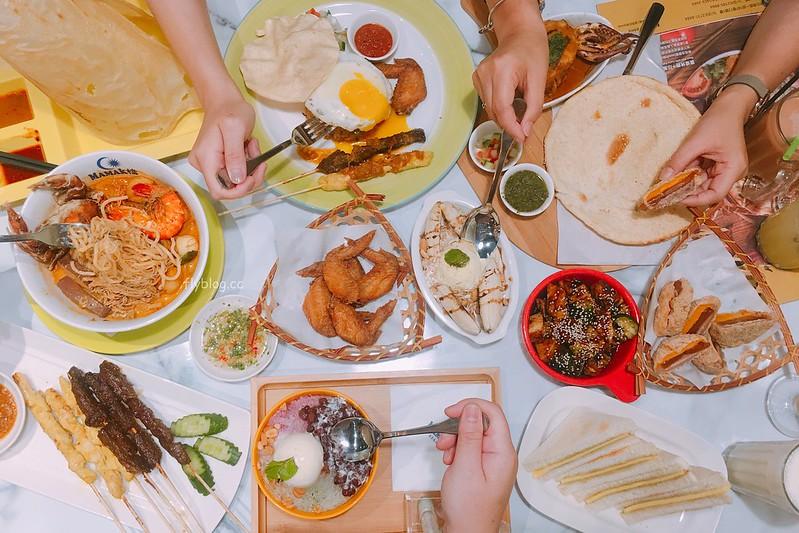 Mamak檔@中科店┃台中西屯:JMall亞洲米其林一條街,正宗馬來西亞料理進駐 @飛天璇的口袋