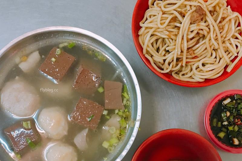昌平炒麵:炒麵好吃不油膩,綜合湯清爽無腥味,而且還有冷氣可以吹 @飛天璇的口袋
