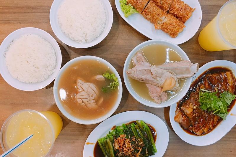 松發肉骨茶@牛車水店┃新加坡美食:米其林推薦的新加坡必吃美食,新加坡三大必吃肉骨茶餐廳之一 @飛天璇的口袋
