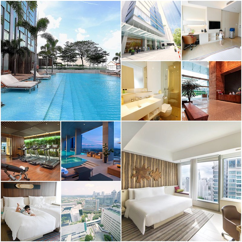 新加坡豪亞酒店.Oasia Hotel Novena┃新加坡飯店:距離諾維娜地鐵站步行2分鐘,樓下就有超市和便利商店 @飛天璇的口袋