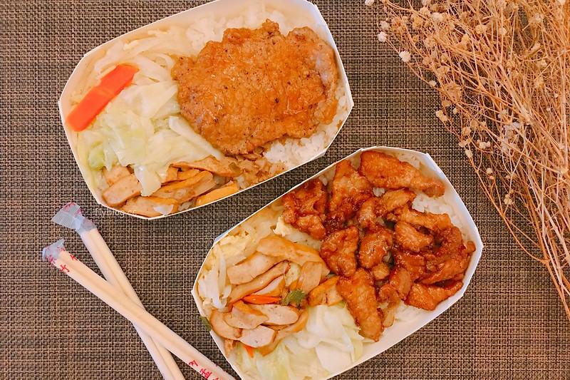 李媽媽豬排咖哩專賣店┃台中北區:北平路超人氣便當店,便當乾淨又有質感,而且主菜的選擇性也多 @飛天璇的口袋