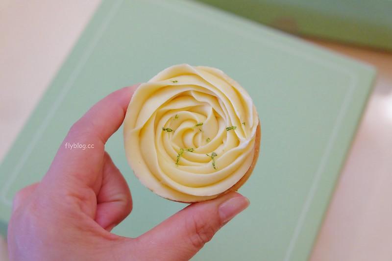 Cream Tea┃台中西屯:一等就是半年的玫瑰造型檸檬塔,司康和蝴蝶酥也是好好吃 @飛天璇的口袋