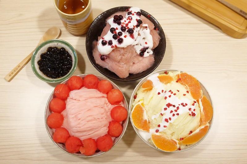 春雪冰の屋┃台中西區:簡單清新的日式冰店,天然單純的水果味呈現 @飛天璇的口袋