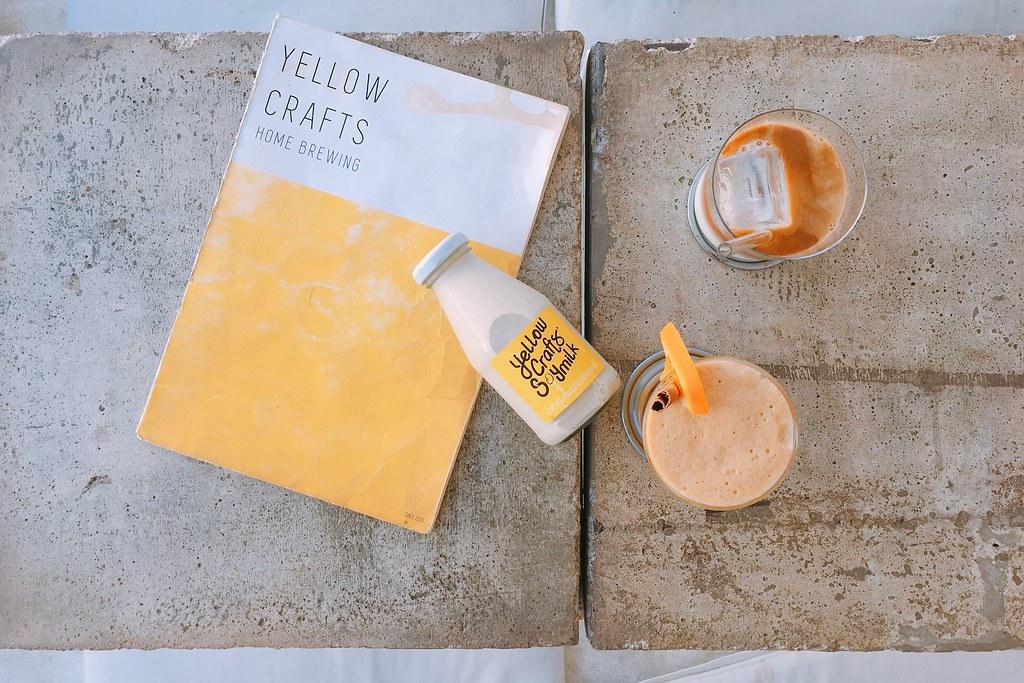 Yellow Craft Cafe┃泰國清邁:清邁超夯網美打卡咖啡館,用豆乳取代牛奶更有創意 @飛天璇的口袋