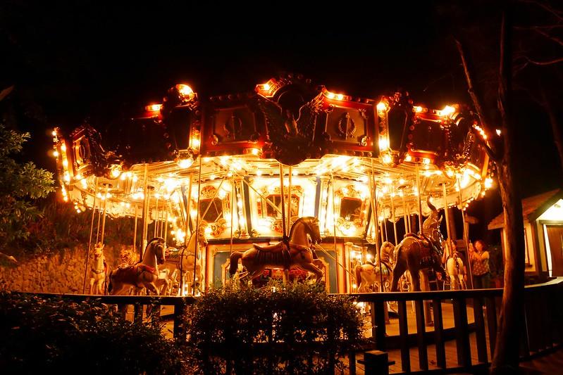 緩慢尋路香草House:住在薰衣草森林裡享受大自然,晚上還可以觀賞夜間童話旋轉木馬 @飛天璇的口袋