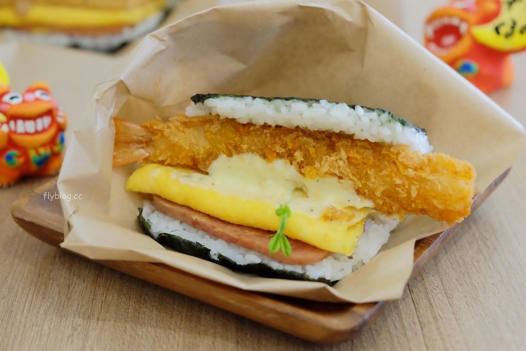 樂米屋:沖繩超人氣排隊美食台中也吃的到,飯糰口味選擇性多口味也不錯 @飛天璇的口袋