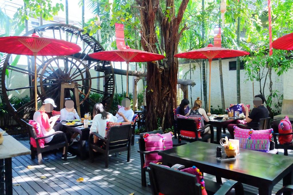 Fahtara Coffee┃泰國清邁:充滿蘭納風情的庭園咖啡館,tripadvisor古城區超人氣美食餐廳推薦 @飛天璇的口袋