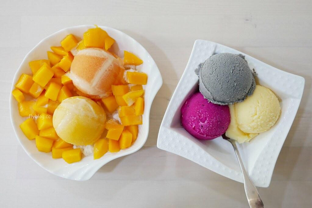 純粹綿綿冰┃台中大甲:使用當季水果、自家手工製冰,好吃健康沒有添加物 @飛天璇的口袋