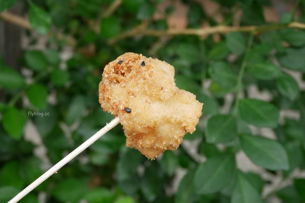 古月館糯米炸:彰化在地50年傳統小吃,外皮酥脆內餡軟Q,假日要有排隊心理準備 @飛天璇的口袋