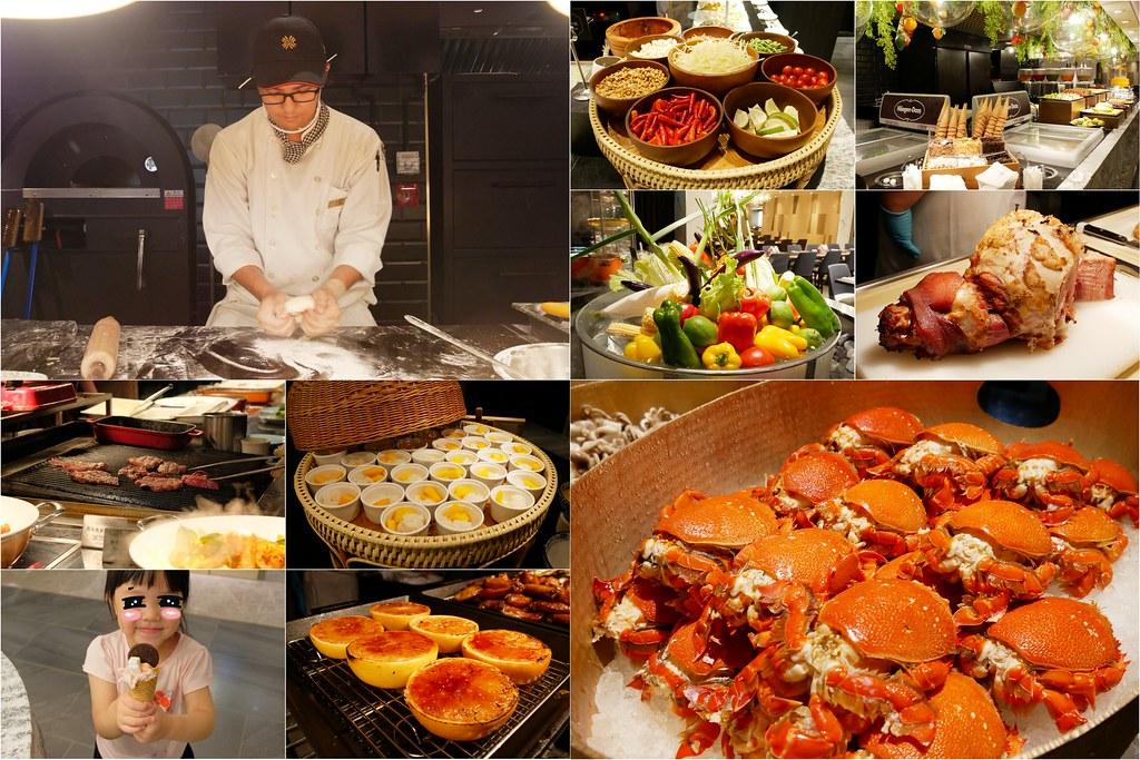 漢來海港餐廳⎜台中西區:台中百匯吃到飽!漢來海港餐廳2019全面改裝再出發,台中百匯吃到飽餐廳值得推薦的! @飛天璇的口袋