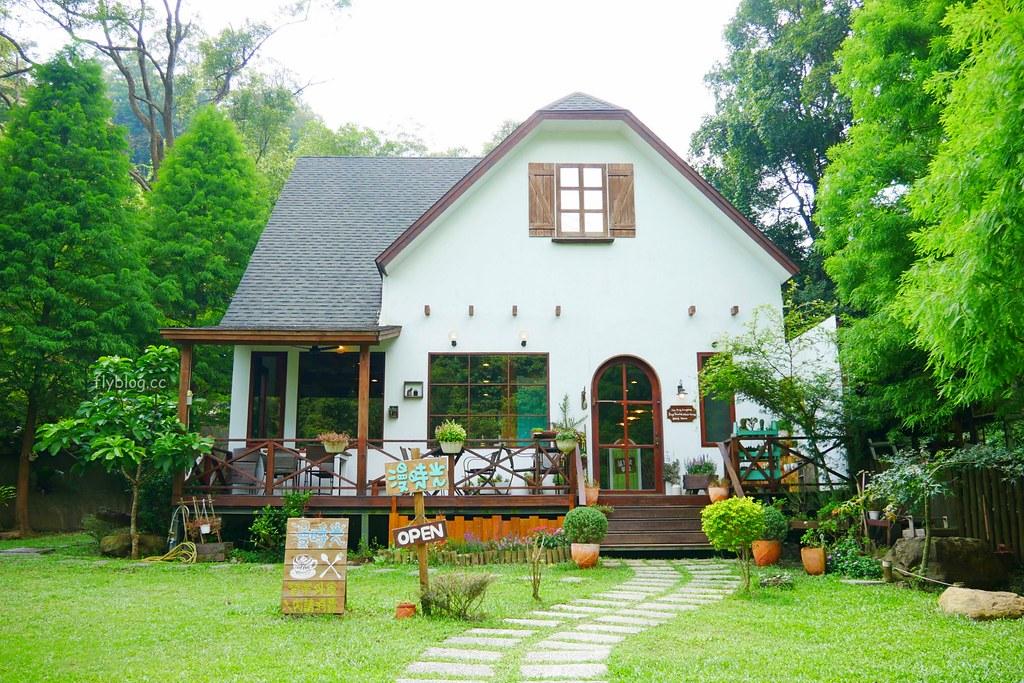 漫時光咖啡┃三義景點:位於三義山城的浪漫景點餐廳,享受平日靜謐的下午茶時光 @飛天璇的口袋