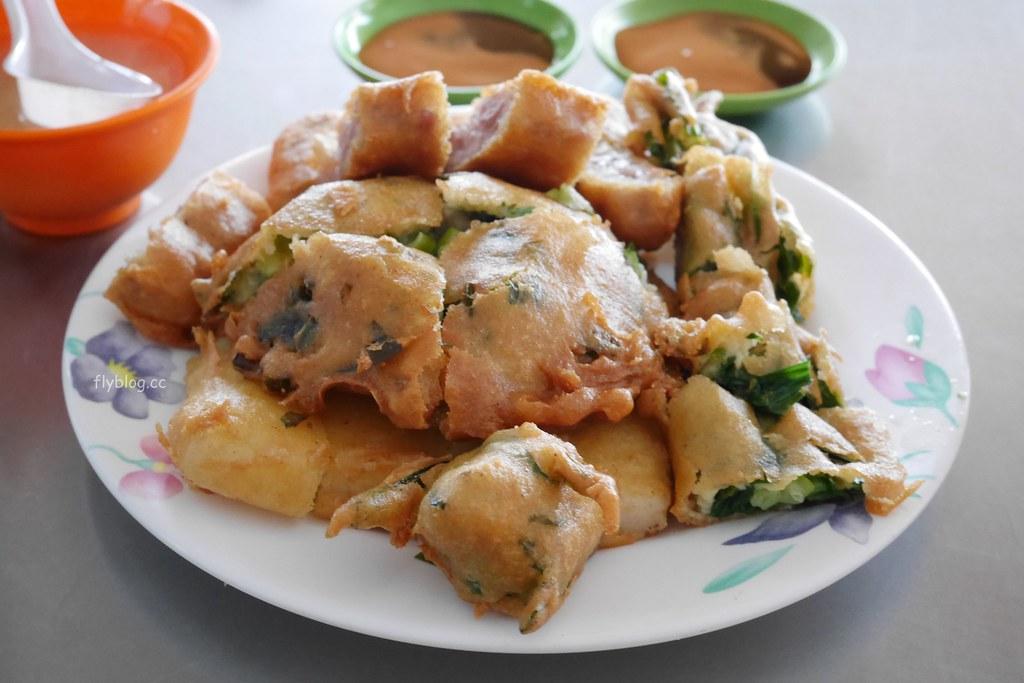 丫忠炸粿:台中人的中式下午茶,進化北路北屯國小旁炸粿,吃完再到阿坤吃碗黑粉圓 @飛天璇的口袋