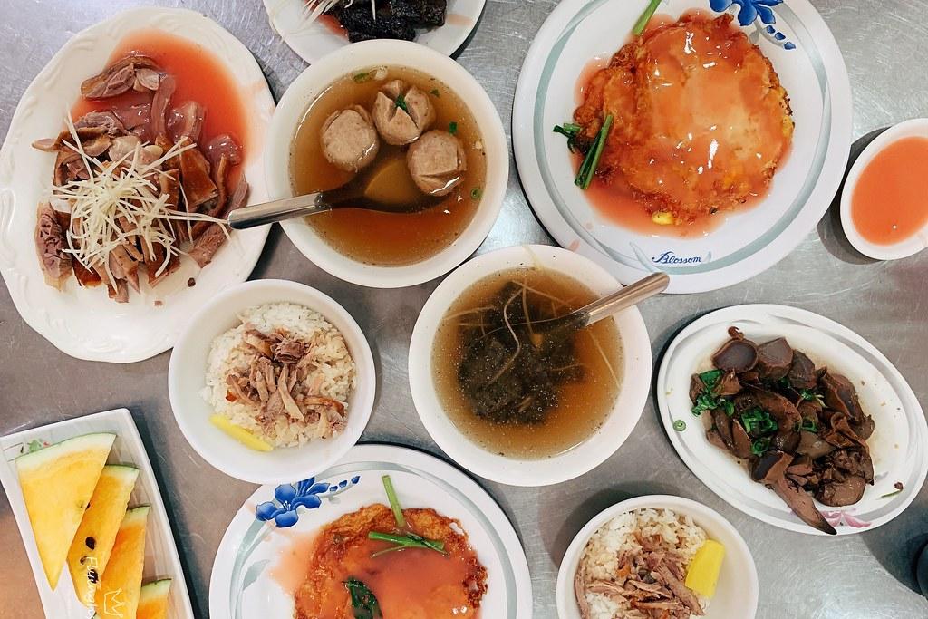 阿波鴨肉麵┃嘉義美食:嘉義在地近30年的傳統美味,餐點選擇性多而且價格也親民,嘉義文化公園旁邊 @飛天璇的口袋