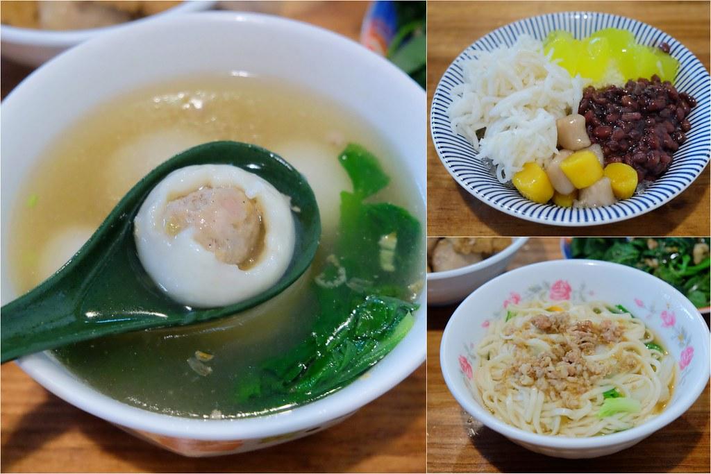 花魯米味:北平路超人氣傳統麵食小吃店,夏天必點米苔目冰,冬天推薦客家湯圓 @飛天璇的口袋