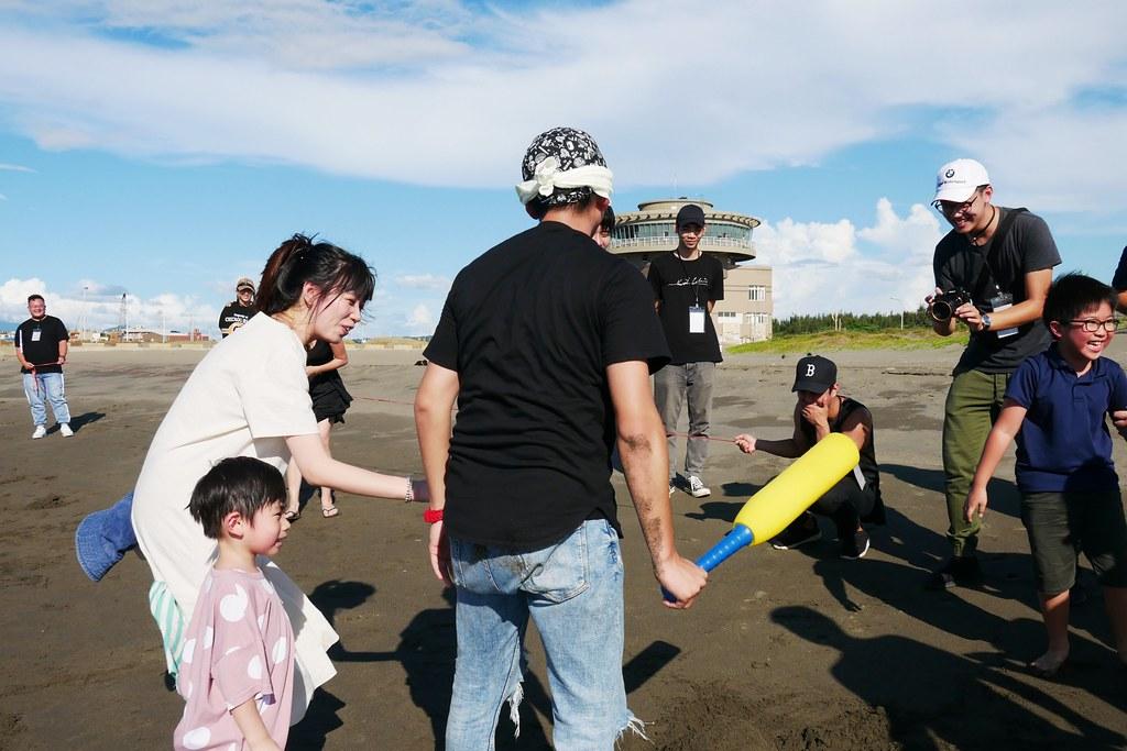【桃園大園】  竹圍漁港:偶像劇拍攝地,享受異國風情,親子戲水景點 @飛天璇的口袋