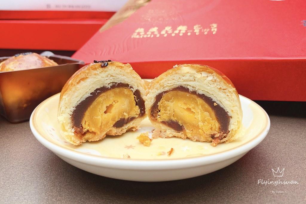 拉波兒麵包:酥脆不不甜膩,個人心中台中最喜歡的蛋黃酥~ @飛天璇的口袋