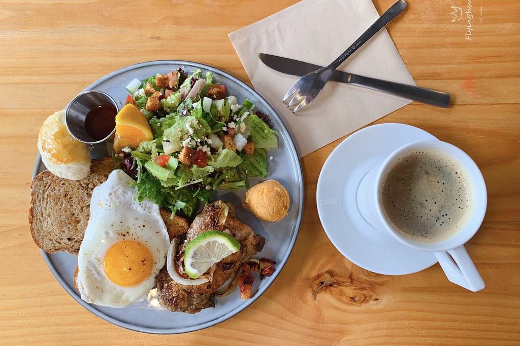 GO HOME 食研室早午餐:台中森林系早午餐店,食材新鮮餐點有特色 @飛天璇的口袋