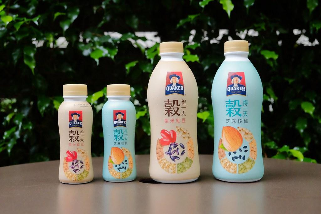 2019桂格穀得一天:紫米紅豆、芝麻核桃新上市 X 100%無添加香料和防腐劑 @飛天璇的口袋
