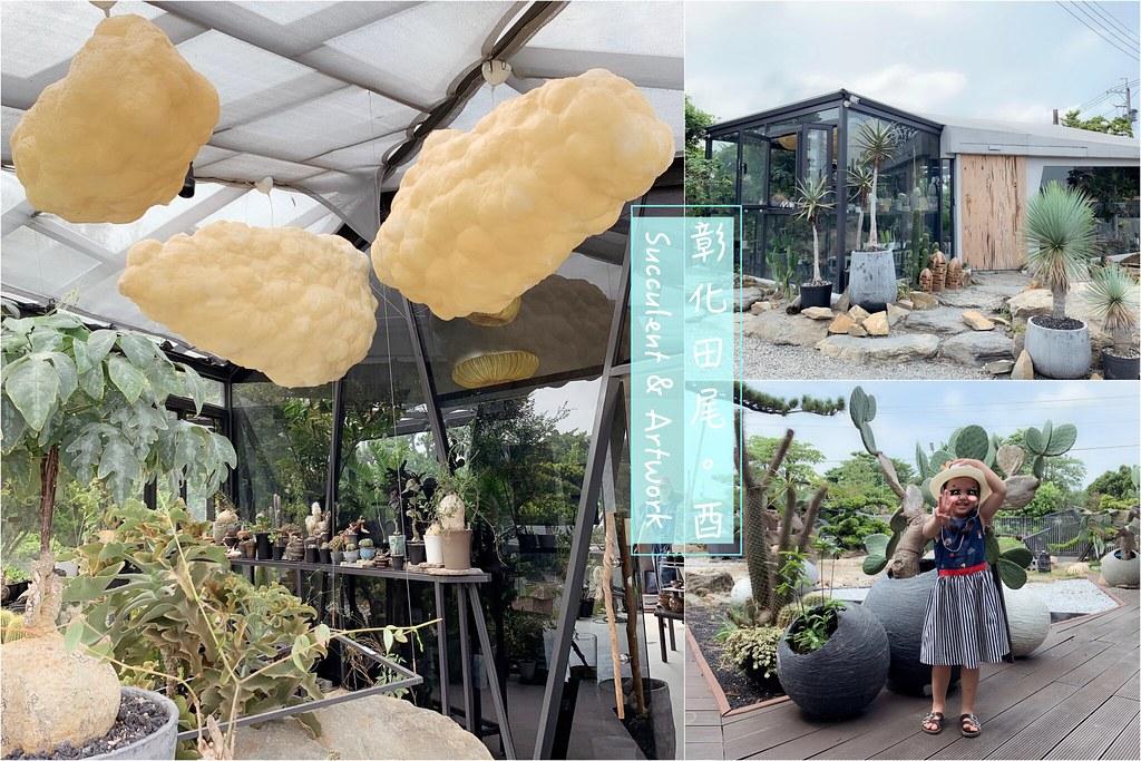 酉 Succulent & Artwork┃彰化田尾:超美塊根植物專賣店,IG網美熱門打卡景點 @飛天璇的口袋