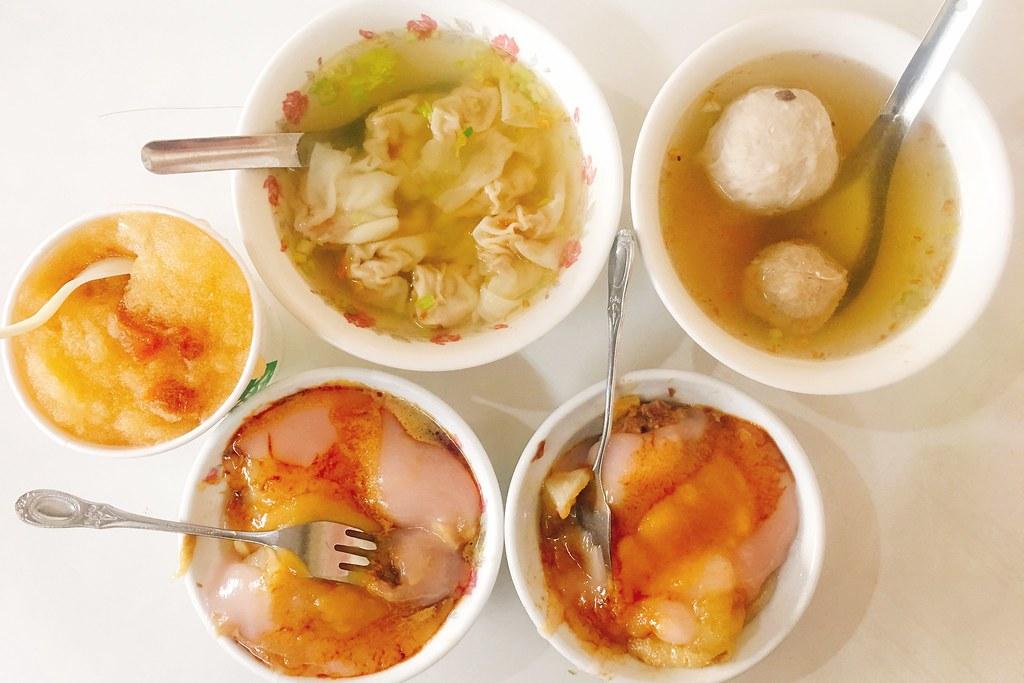 新金樹肉丸鳳梨冰:豐原在地60年老店,肉丸和鳳梨冰都好吃 @飛天璇的口袋