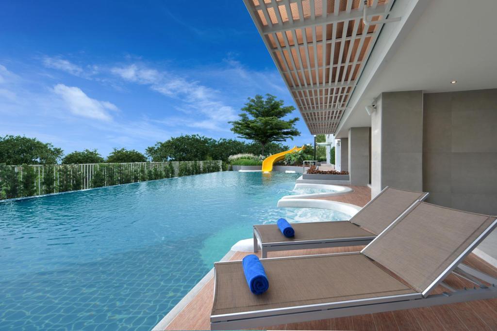 中心點飯店.Centre Point Hotel Pattaya:芭達雅商務型酒店,Agoda平日一晚不到1000,CP值超高大推! @飛天璇的口袋
