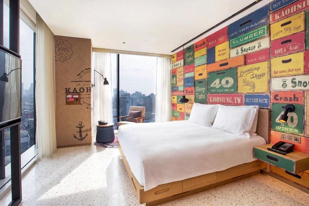 高雄英迪格酒店.Hotel Indigo Kaohsiung Central Park:高雄市中心五星級酒店,浪漫的星空酒吧+一泊二食,捷運中央公園站步行1分鐘 @飛天璇的口袋