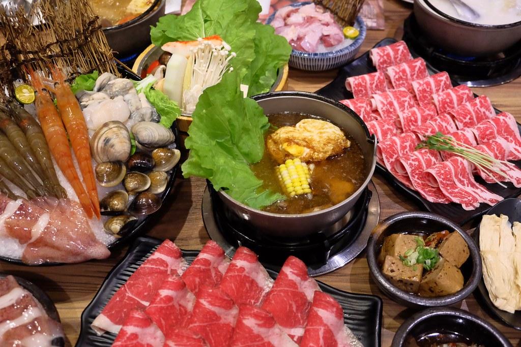 良食煮意有機鍋物:有機餐廳五顆星認證~$1288元雙人海陸餐,+198元升級5品海鮮盤! @飛天璇的口袋