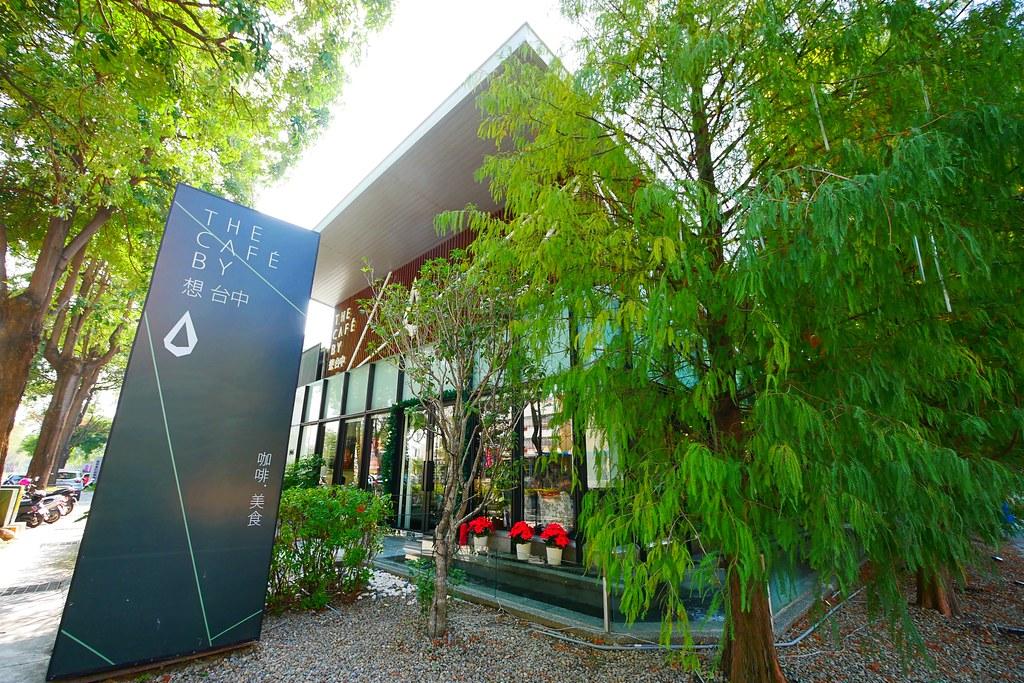 The Café By 想 台中:落羽松唯美玻璃屋享受都市裡的悠閒,從早午餐到下午茶都有供應 @飛天璇的口袋