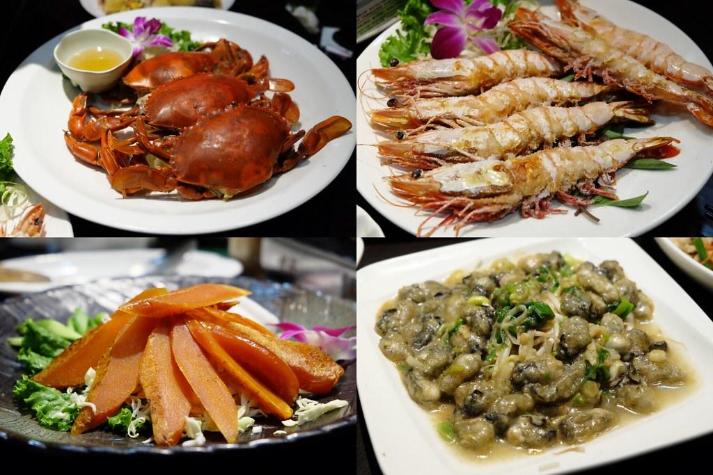 蚵庄海產餐廳:生猛海鮮料理上桌,當季時令美味佳餚,嘉義合菜宴客的好地方 @飛天璇的口袋