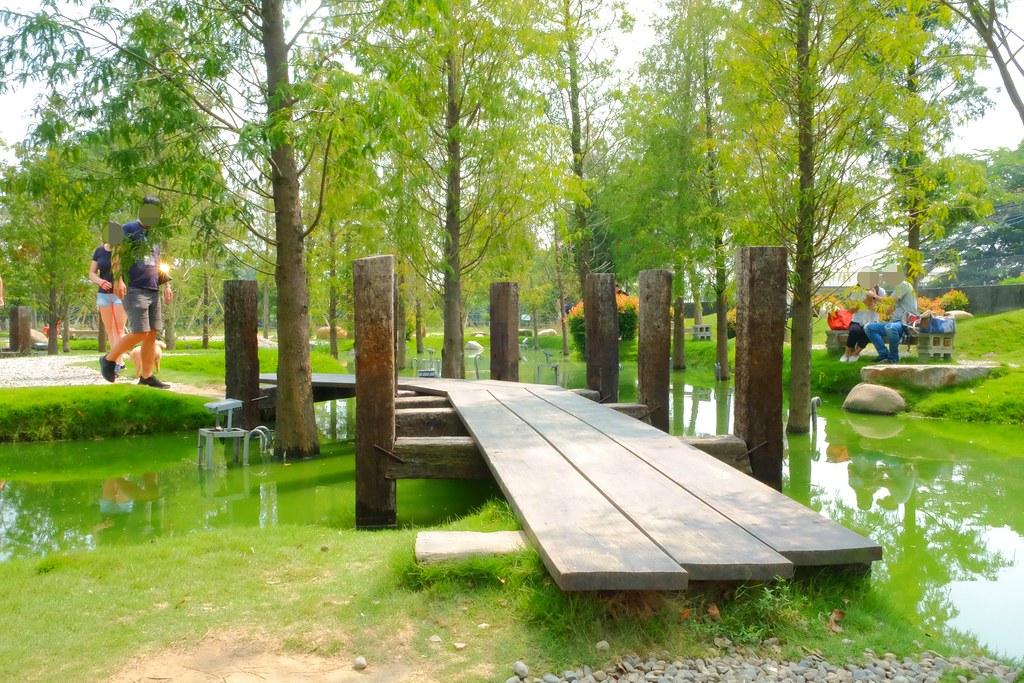 雲林虎尾|虎尾一日遊:心型落羽松森林、布袋戲的故鄉、古蹟星巴克、百年鐵橋 @飛天璇的口袋