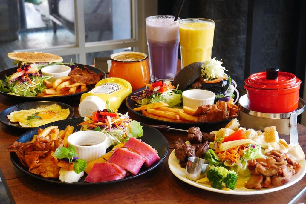 Butter巴特手作晨食@霧峰店:從彰化紅到台中的平價早午餐店,霧峰分店學生族群的最愛 @飛天璇的口袋