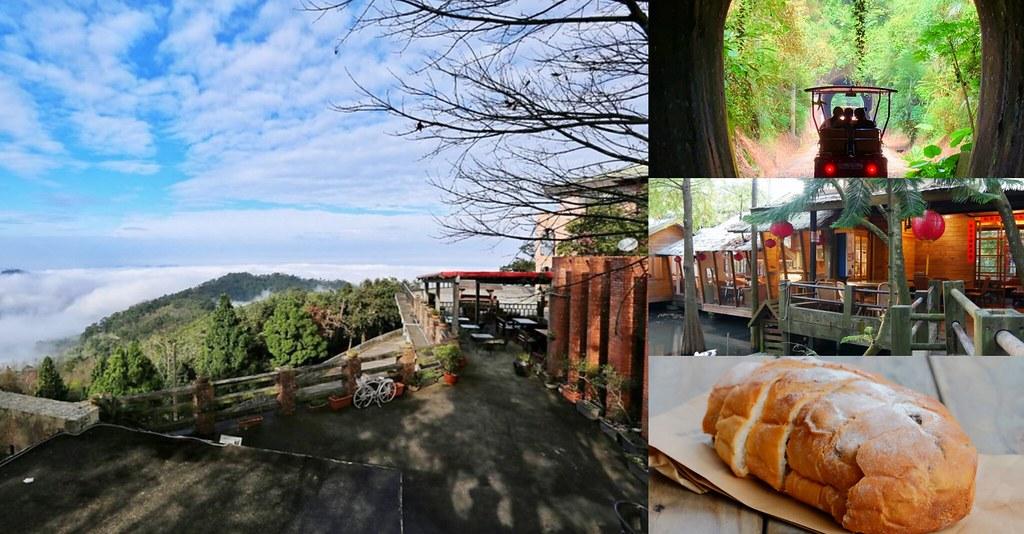 綠葉方舟:隱身於山林裡的森林系餐廳,大片草池湖畔美景,親子踏青的好地方 @飛天璇的口袋