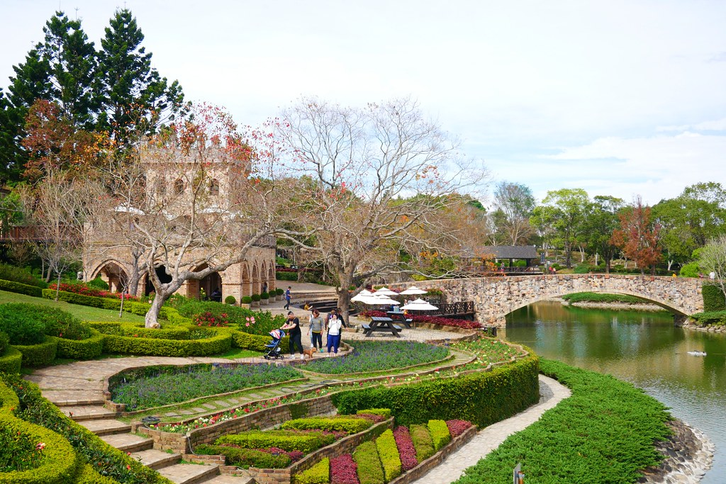 新社莊園古堡:漂亮風情的歐式古堡,腹地廣又好拍的景觀餐廳 @飛天璇的口袋