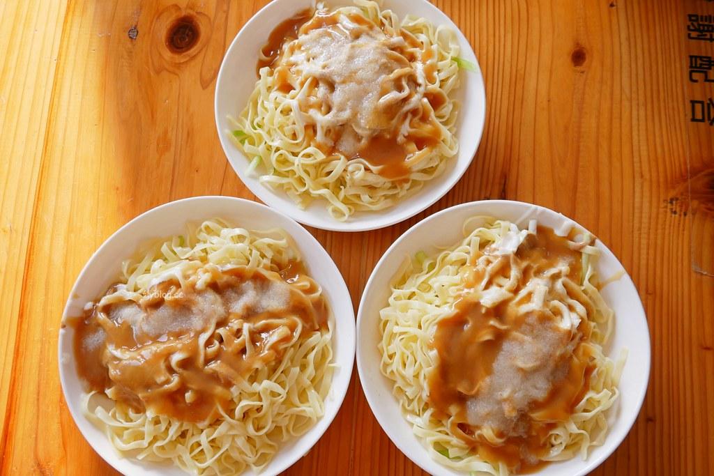 黃家涼麵涼圓:南部限定的美乃滋涼麵,連在地人也推薦的必吃美食 @飛天璇的口袋